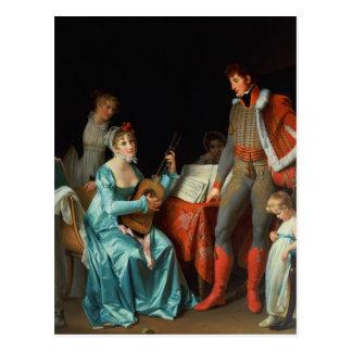 La Duchesse Abrantes et le General Junot Postcard