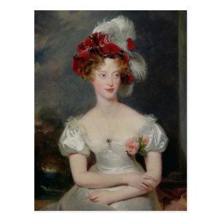 La Duchesse de Berry  c.1825 Postcard