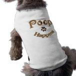 La dunette se produit habillement d'animal familie tee-shirts pour toutous