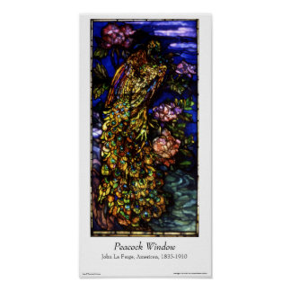La Farge Window - Poster