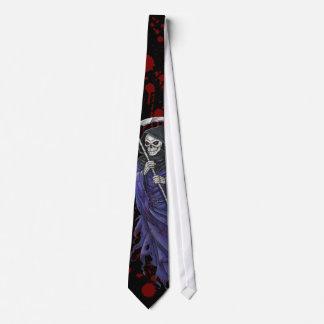La Faucheuse Grim Reaper Bloody Tie