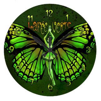 La Fee Verte Wings Outspread Clock