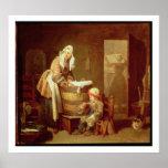 La femme de blanchisserie posters