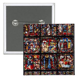 La fenêtre d'incarnation macaron carré 5 cm