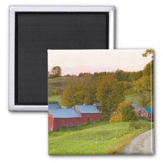 La ferme de Jenne dans Woodstock, Vermont. Chute Aimant