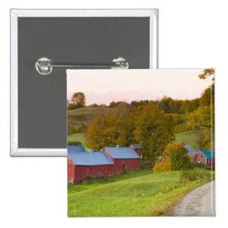 La ferme de Jenne dans Woodstock Vermont Chute Badges Avec Agrafe