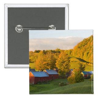 La ferme de Jenne dans Woodstock Vermont Chute Pin's Avec Agrafe