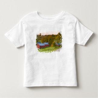 La ferme de Jenne dans Woodstock, Vermont. Chute T-shirt