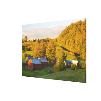 La ferme de Jenne dans Woodstock, Vermont. Chute.  Impressions Sur Toile