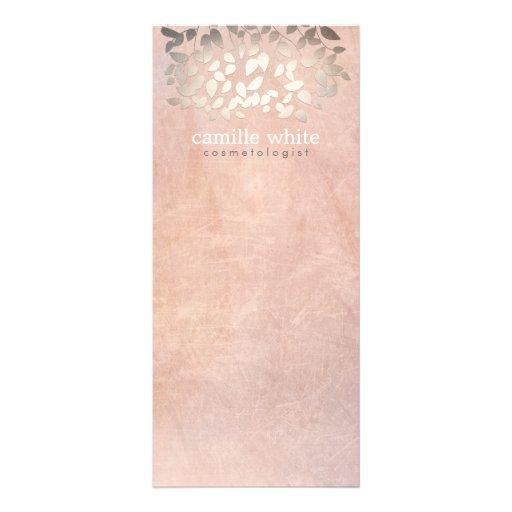 La feuille d'or élégante de Faux de cosmétologie l Doubles Cartes