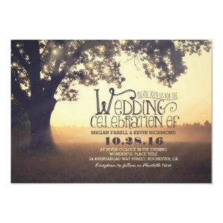 la ficelle allume le faire-part de mariage carton d'invitation  12,7 cm x 17,78 cm