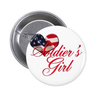 La fille du soldat pin's