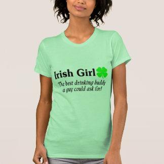 La fille irlandaise le meilleur ami potable un t-shirts