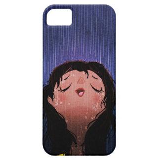 """La fille sous la pluie """"respirent juste """" coques iPhone 5 Case-Mate"""