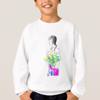 La Fleur Fashion Illustration Sweatshirt