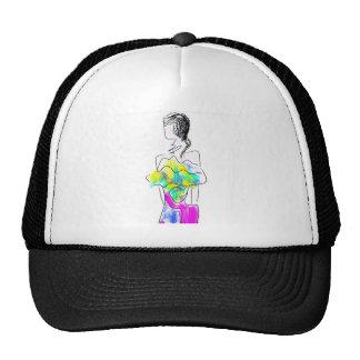 La Fleur Fashion Illustration Trucker Hat