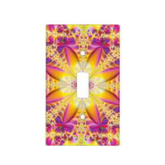La Flora Fractal Light Switch Cover