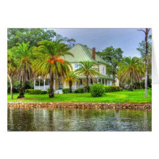 La Floride ancienne Carte De Vœux