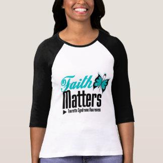 La foi importe syndrome de Tourette Tshirt