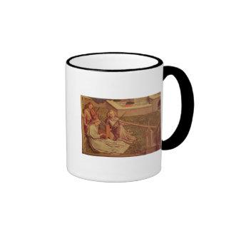 La fontaine de la grâce, détail de l'ange trois tasse