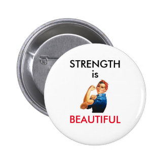 La force est belle badge avec épingle