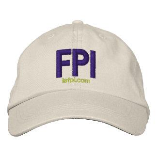 LA FPI Hat - adjustable purple print Embroidered Hat