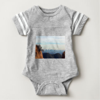 LA framed mountain Baby Bodysuit