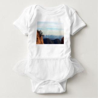 LA framed mountain Baby Bodysuit