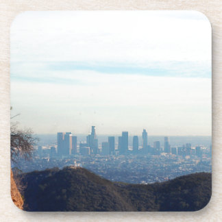 LA framed mountain Beverage Coasters
