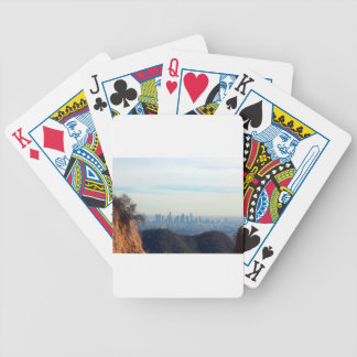LA framed mountain Bicycle Playing Cards