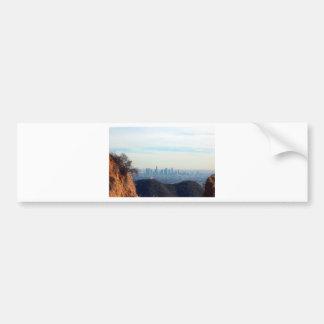 LA framed mountain Bumper Sticker