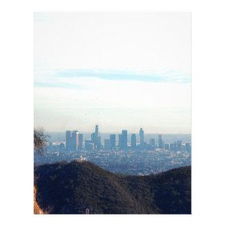 LA framed mountain Letterhead
