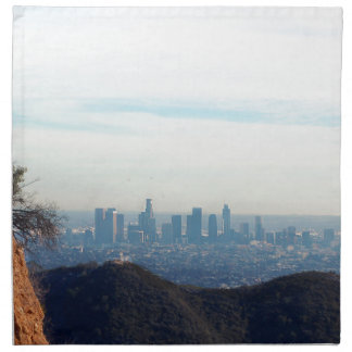 LA framed mountain Napkin