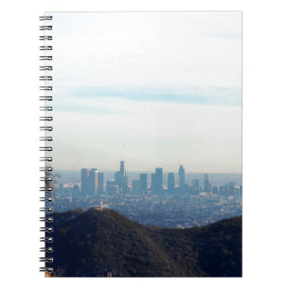 LA framed mountain Notebook