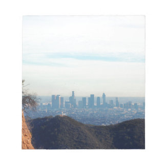 LA framed mountain Notepad