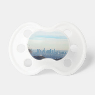 LA framed mountain Pacifier