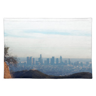 LA framed mountain Placemat