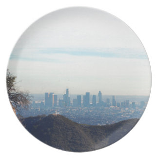 LA framed mountain Plate