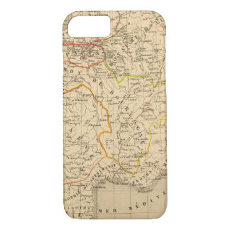 La France apres la mort de Clothaire 1er iPhone 7 Case