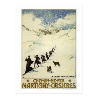 La France - ski de moines Cartes Postales