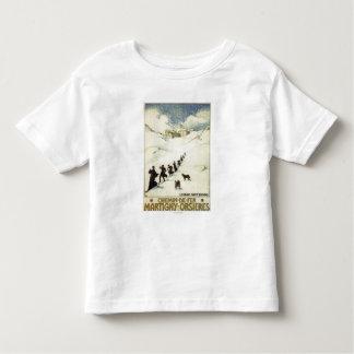 La France - ski de moines T-shirt Pour Les Tous Petits