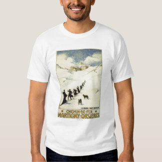 La France - ski de moines Tshirt