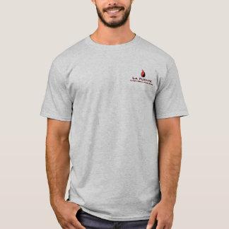"La Fuente ""Escudo Arriba"" Men's T-Shirt (Gray)"