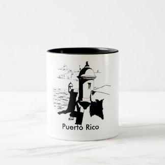 La Garita, San Juan Two-Tone Coffee Mug