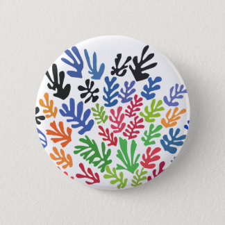La Gerbe by Matisse 2 Inch Round Button