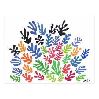 La Gerbe by Matisse Postcard