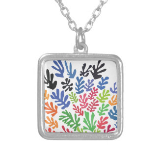 La Gerbe by Matisse Silver Plated Necklace
