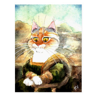 La Giagatto (Mona Heather) Postcard