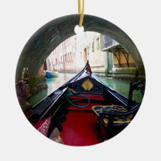 La Gondola Ceramic Ornament