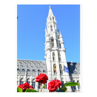 La Grand Place, Brussels Postcard